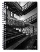 Iron Staircases Spiral Notebook