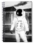 The Astronaut Homecoming Spiral Notebook