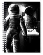 The Astronaut And The Bathroom Spiral Notebook
