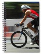 Ironman Flying Spiral Notebook