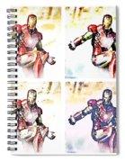 Irons Spiral Notebook