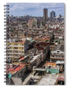 Irony Of Cuba Spiral Notebook