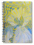 Irreverant Iris Spiral Notebook