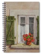 Irvillac Window Spiral Notebook