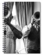 Irvin And Wynton Spiral Notebook
