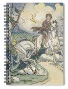 Irving: Sleepy Hollow, 1849 Spiral Notebook