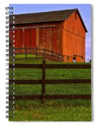 Is Every Barn Red Spiral Notebook
