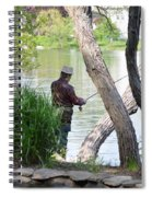 Is The Fisherman Real? Spiral Notebook