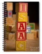 Isaac - Alphabet Blocks Spiral Notebook