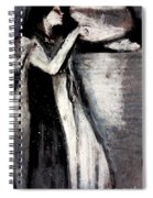 Isabella And The Pot Of Basil By John White Alexander Spiral Notebook