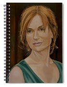 Isabelle Huppert Painting Spiral Notebook