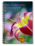 Isaiah 40-8 Spiral Notebook