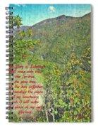 Isaiah 60 13 Spiral Notebook