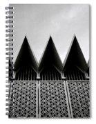 Islamic Geometry Spiral Notebook