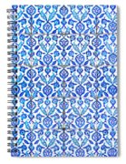 Islamic Tiles 01 Spiral Notebook