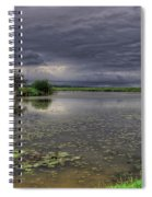 Island And Flowers Spiral Notebook
