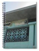 Island Balcony Close Up Spiral Notebook