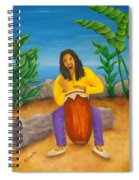 Island Beat Spiral Notebook