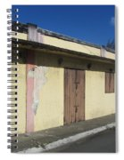 Island Decay Building Spiral Notebook