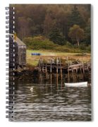Island Fall Spiral Notebook
