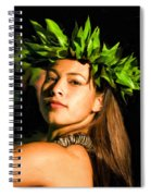 Island Girl 2 Spiral Notebook