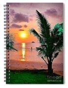 Island Glow Spiral Notebook
