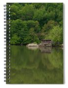 Island House On New River - West Virginia Spiral Notebook