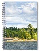 Island In Georgian Bay Spiral Notebook