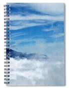 Island In The Clouds Spiral Notebook