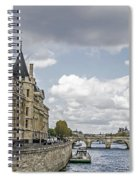 Island In The Seine Spiral Notebook