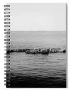 Island In The Stream Spiral Notebook