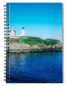 Island Lighthouse Spiral Notebook