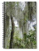 Island Moss Spiral Notebook