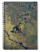 Island Of Fall Color Spiral Notebook