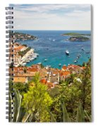 Island Of Hvar Scenic Coast Spiral Notebook