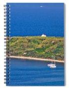 Island Of Susak Cape Church Spiral Notebook
