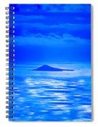 Island Of Yesterday Wide Crop Spiral Notebook