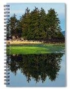 Island Reflection Spiral Notebook