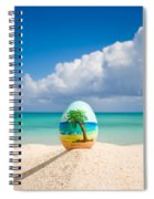 Island Style Easter Egg Spiral Notebook