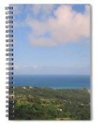 Island View From High Spiral Notebook