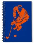 Islanders Shadow Player3 Spiral Notebook