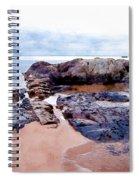 Islands Off The Shore Spiral Notebook