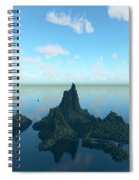 Isle And Sea... Spiral Notebook