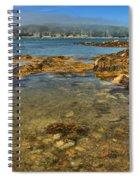 Isle Au Haut Beach Spiral Notebook