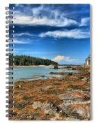 Isle Au Haut House Spiral Notebook