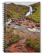 Isle Of Skye Waterfall Spiral Notebook