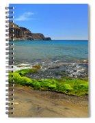 Isleta Del Moro Beach Spiral Notebook