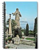 Isola Bella And Lake Maggiore Spiral Notebook