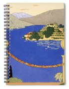 Isola Bella Spiral Notebook