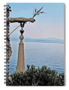 Isola Bella Lookout Spiral Notebook